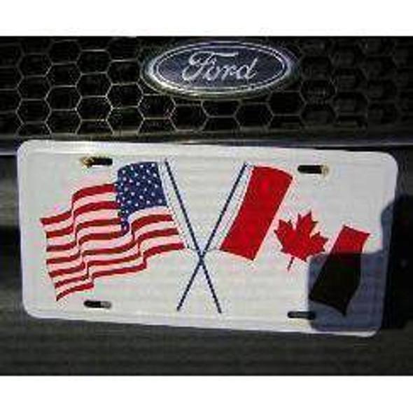 USA & Canada License Plate-1