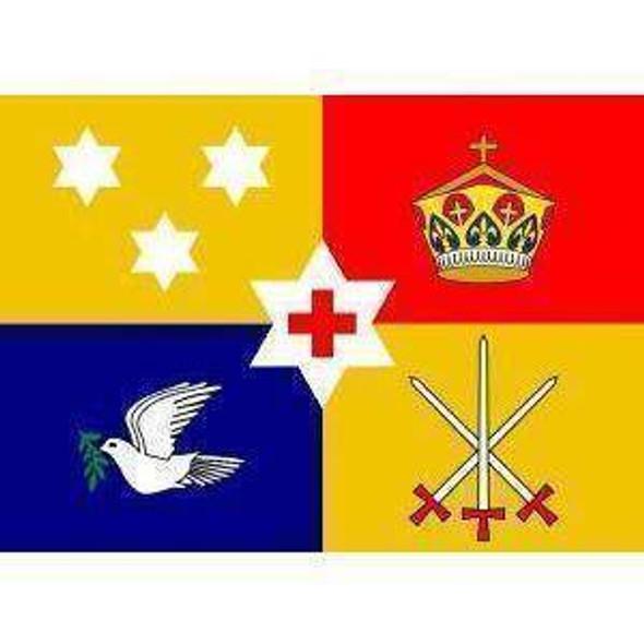Tonga Royal Standard Flag 3 X 5 ft. Standard