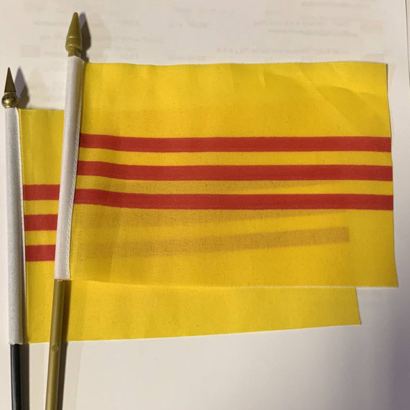 South Vietnam 4 x 6 Inch Flag