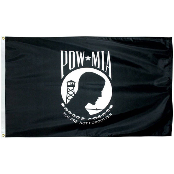 POW MIA Flag - Poly-Max Outdoor Commercial (Made in America)