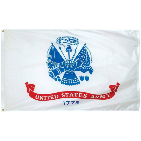 US Army 3x5 Nylon Outdoor Flag Made in USA
