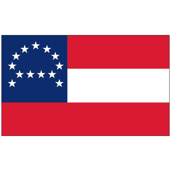 General Lee Headquarters Flag - Nylon Dyed  Made in USA