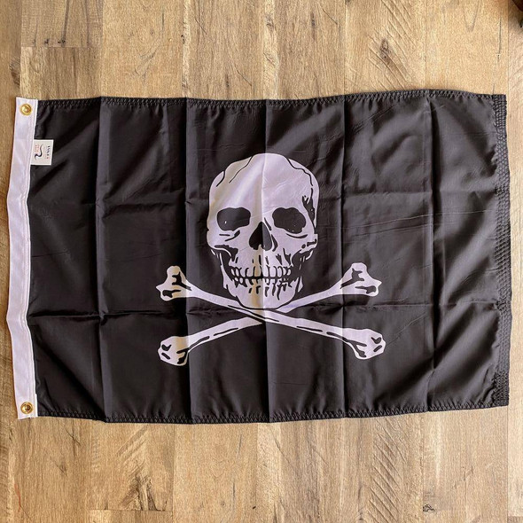 Jolly Roger - Pirate Flag - Outdoor Nylon - Made in USA