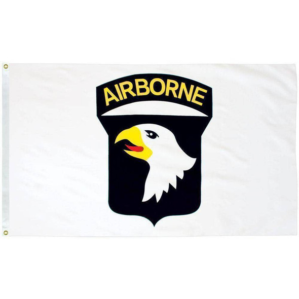 101st Airborne 3x5 E-Poly Flag Made in the USA