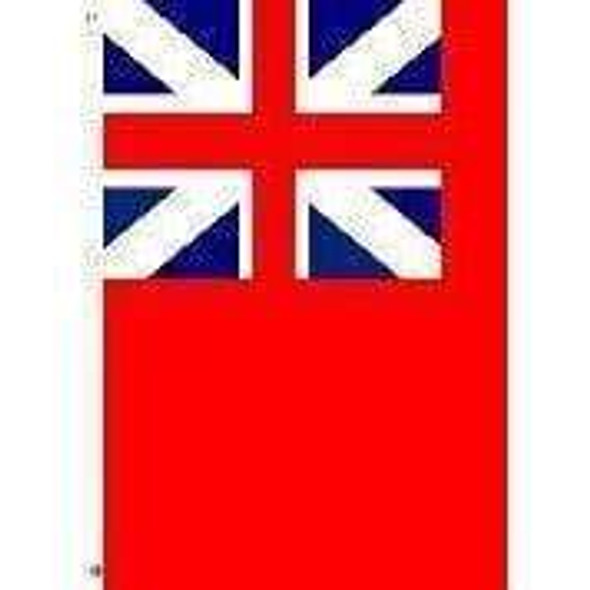 British Red Ensign 3 x 5 E-Poly Flag With Pole Hem