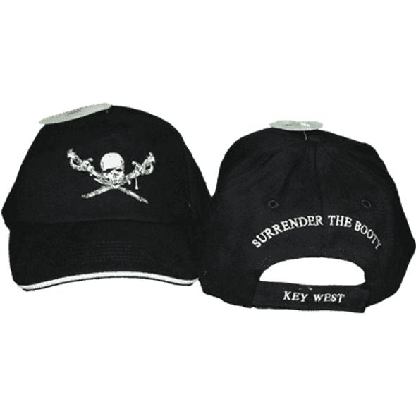 Brethren of the Coast Surrender the Booty Key West Cap
