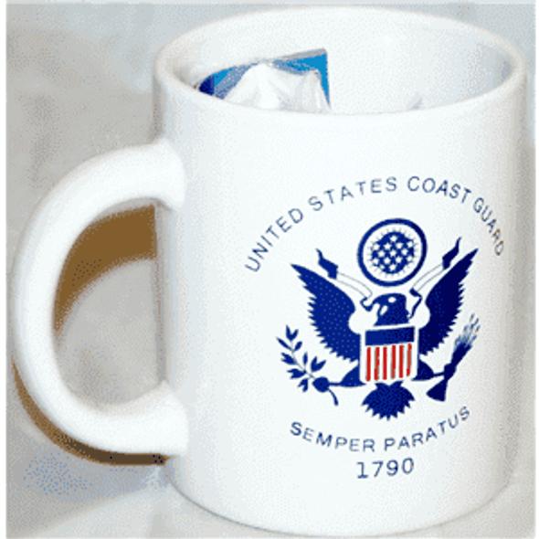 Coast Guard Mug & Flag gift set