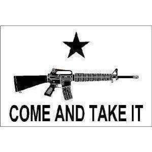 2x3 M4 Carbine Come and Take It Flag