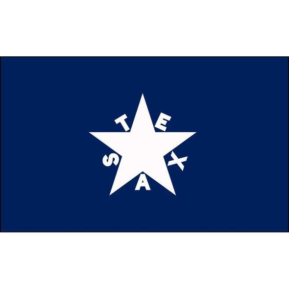 Lorenzo De Zavala Flag -Texas Flag 2 X 3 ft. Standard