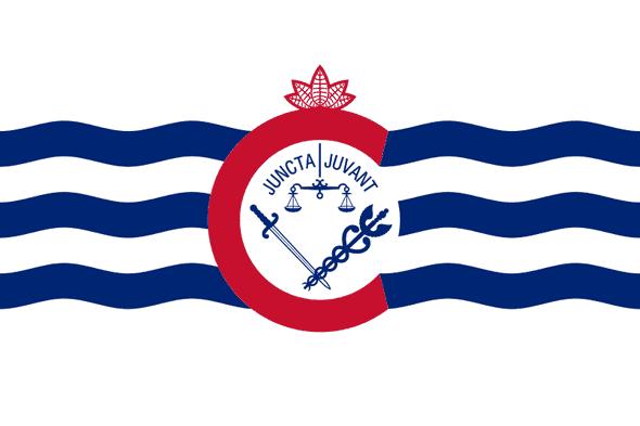 Cincinnati City Flag 3x5 Standard