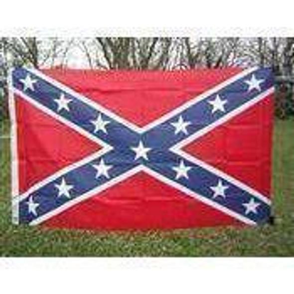 Rebel Flag - Confederate Battle Flags - Nylon Printed Flag 4x6,5x8 ft 180D