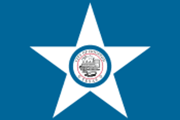 Houston City Flag 3x5 Economical