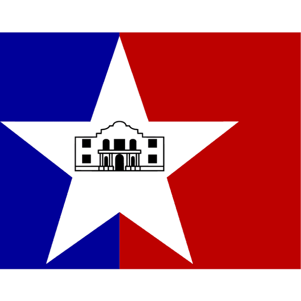 San Antonio City Flag 3x5 ft Economical
