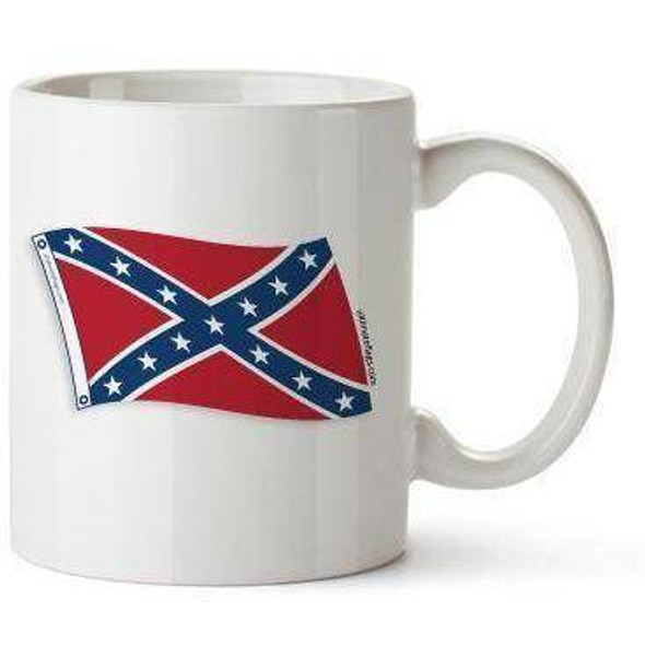 Rebel Flag, Confederate Flag Battle Coffee Mug