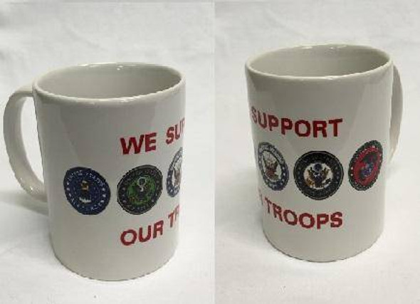 We Support Our Troops Mug