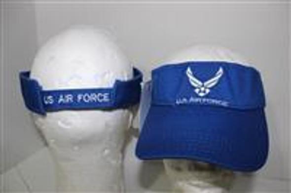 Air Force Wings Blue Visor