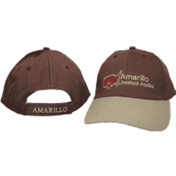 Amarillo Livestock Auction Brown/Khaki Cap