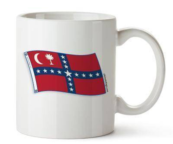 Confederate South Carolina Sovereignty Mugs