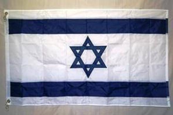 4x6 ft Israel Flag Nylon Embroidered