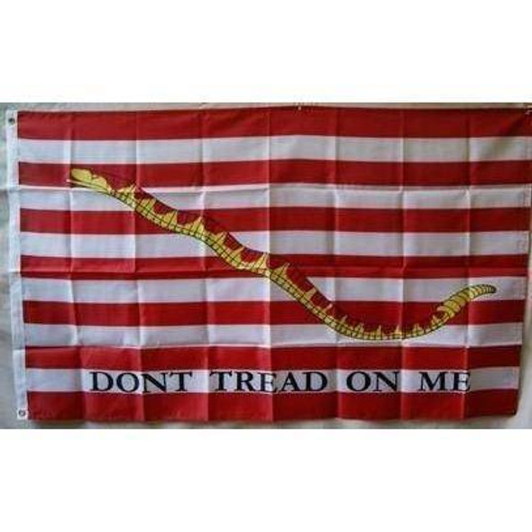 1st Navy Jack Flag - Don't Tread On Me - Nylon Printed
