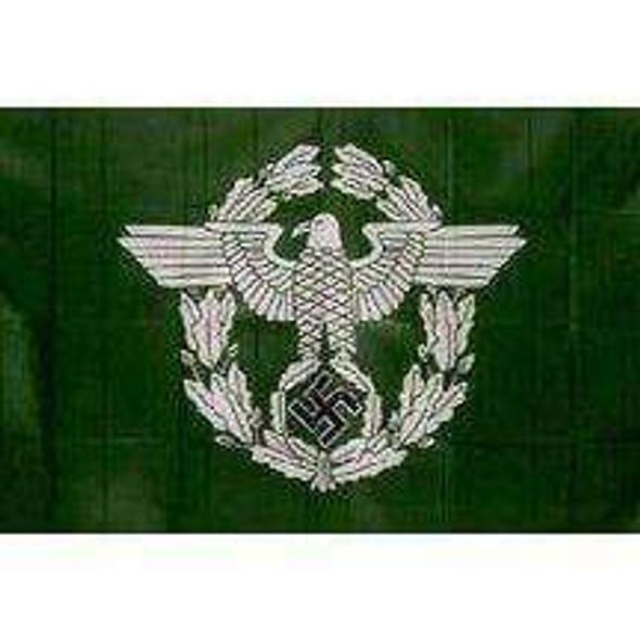 German Stazi Ordnungspolizei Police Flag 3x5 ft. Economical 3rd Reich