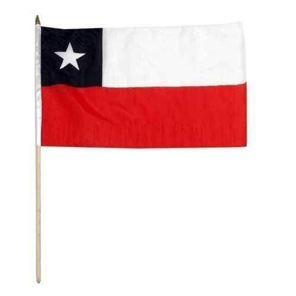 Chile 12 x 18 Inch Standard Printed Flag