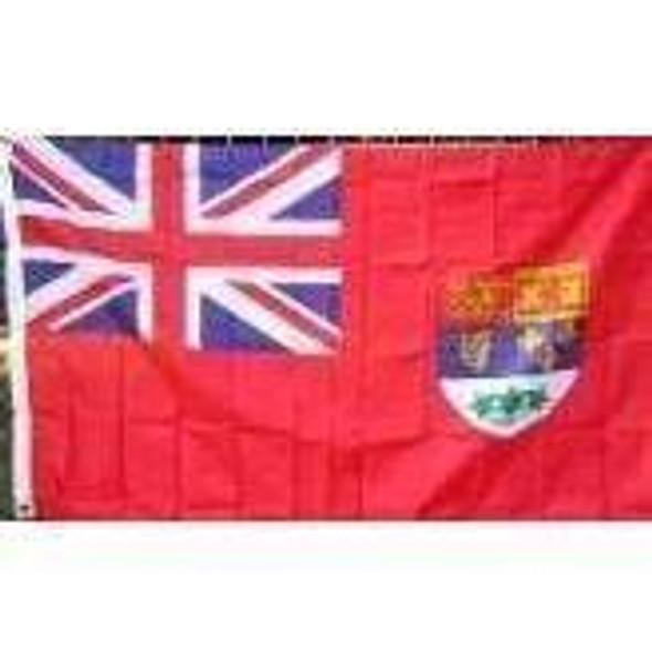 Canadian Red Ensign Flag 3x5 Economical