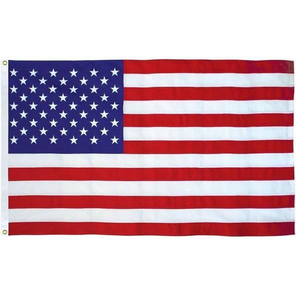 50 Star USA Flag  Nylon Embroidered Flag 4x6 ft