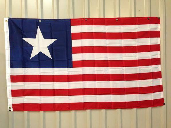 Texas Navy - Texas Naval Ensign 1836-1839 Flag 3x5 ft. Economical
