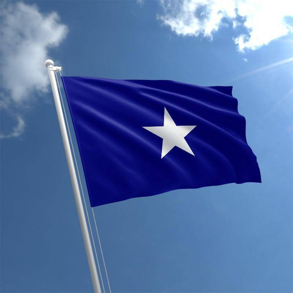 Bonnie Blue Flag - 2 ply Nylon Embroidered - Outdoor