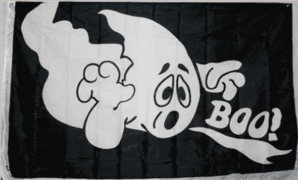 Halloween Boo! 3x5 Flag Economical