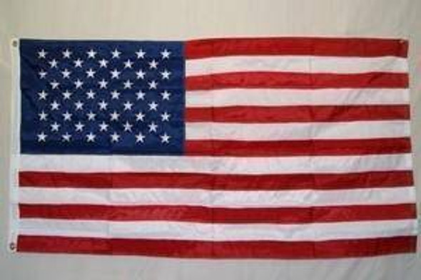 50 Star USA Nylon Embroidered Flag 3 x 5 ft. (ON SPECIAL)