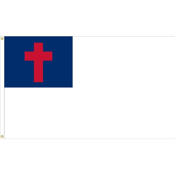 Christian Flag - 2 ply Nylon Fully Sewn
