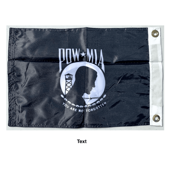 POW MIA Flag - Double Sided with grommets Nylon Printed