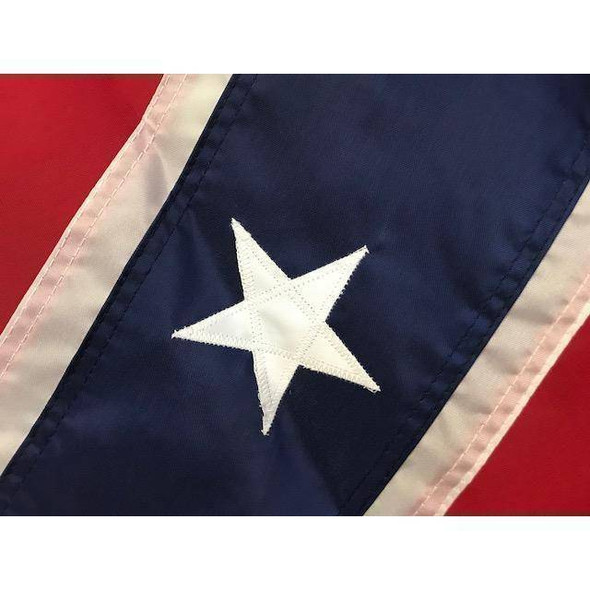 Confederate Flag Fully Hand Sewn Nylon 4x6 ft Made in USA