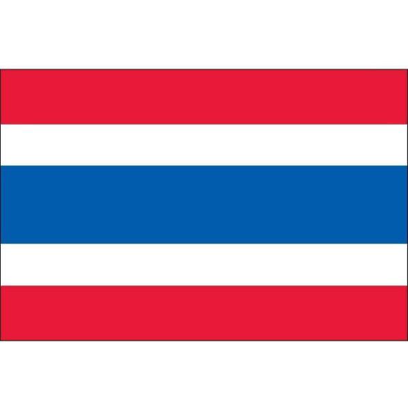Thailand 3 ft x 5 ft Dyed Nylon (USA Made)