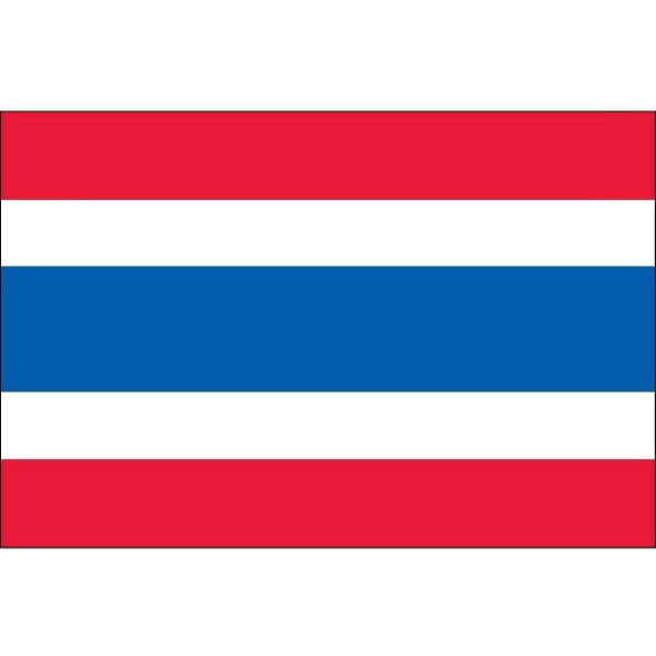 Thailand 5 ft x 8 ft Dyed Nylon (USA Made)