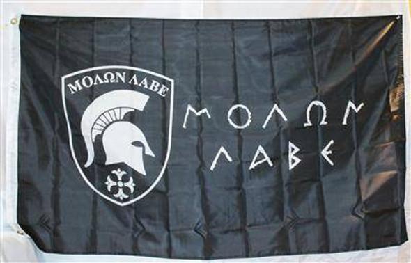 Molon Labe Double-sided 3' x 5' Flag
