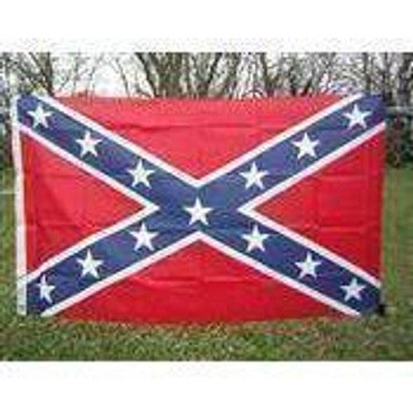 Confederate Battle Flags, Rebel Printed Nylon Flag 3 x 5 ft. QUANTITY 2, SENTRY FLAGS