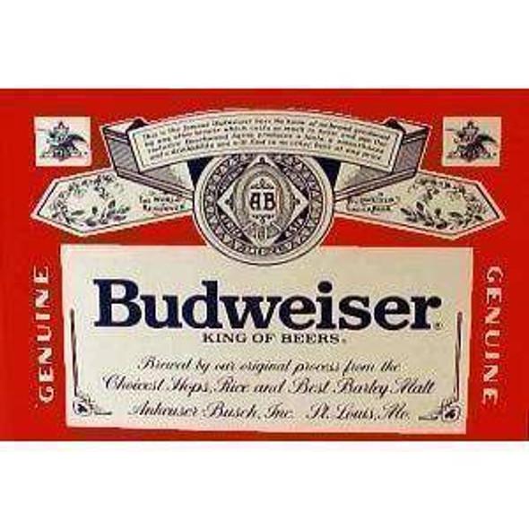 Budweiser Beer Flag 3x5 ft. Standard