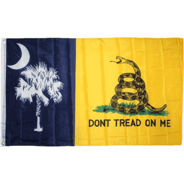 South Carolina Gadsden Flag Don't Tread On Me 3x5 ft
