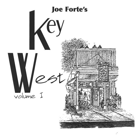 Joe Forte's Key West Volume I Hardbound, with 2x3 ft flag - Conch Republic - Key