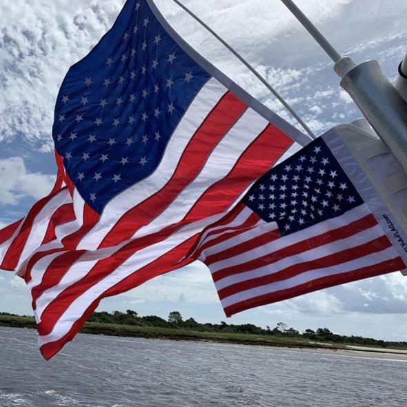 Rod Holder Flag Pole - Fits Fishing Rod Holders