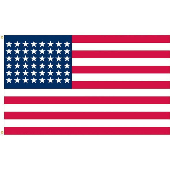 48 Star American Flag - 1912 to 1959 - 2 Ply Nylon 3x5 ft.