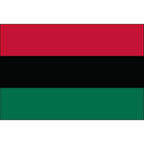 Afro-American Flag -Outdoor UNIA Flag Nylon USA Made