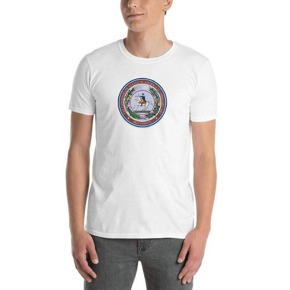 Deo Vindice Seal Short-Sleeve Unisex T-Shirt to buy