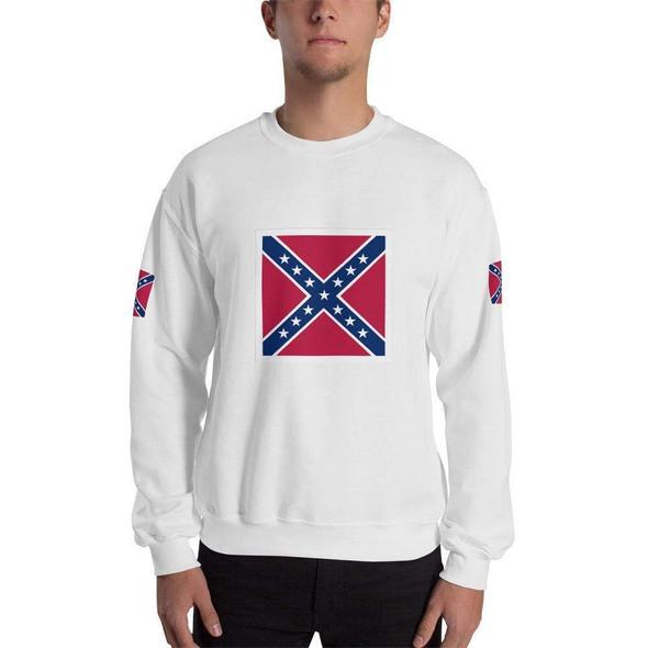 Confederate Battle Flag Unisex Sweatshirt Rebel Flag Shirt