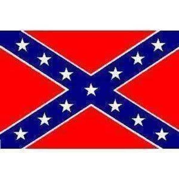 Rebel Flag, Confederate Battle Flag 2x3 Boat flag