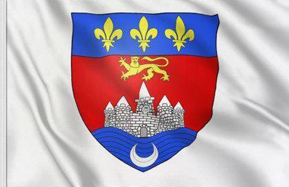 Bordeaux Flag Municipality Provence of Gironde 3x5 ft Made in USA