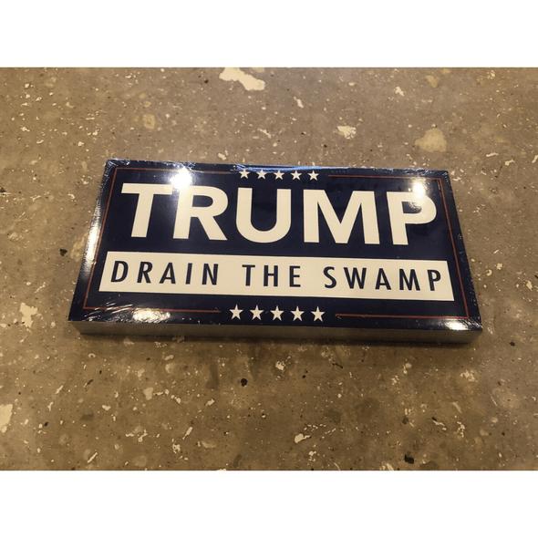 Drain The Swamp Trump Bumper Sticker